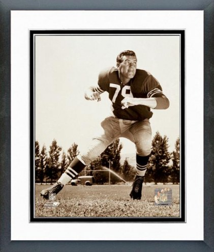 San Francisco 49ers Bob St.Clair Posed Framed Photo