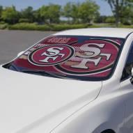 San Francisco 49ers Car Sun Shade