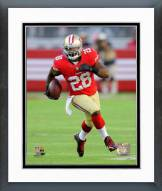 San Francisco 49ers Carlos Hyde Action Framed Photo