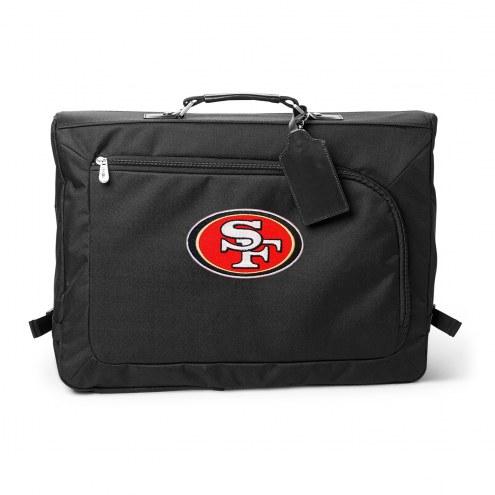 NFL San Francisco 49ers Carry on Garment Bag