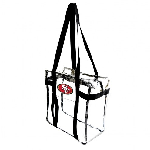 San Francisco 49ers Clear Tote Along