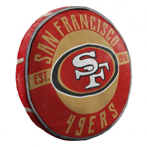 San Francisco 49ers Cloud Travel Pillow