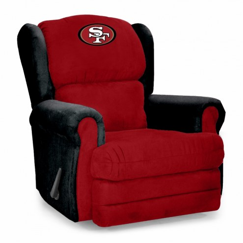 San Francisco 49ers Coach Recliner