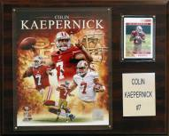 "San Francisco 49ers Colin Kaepernick 12 x 15"" Player Plaque"