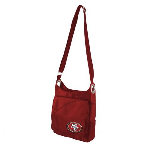 San Francisco 49ers Color Sheen Cross-body Bag
