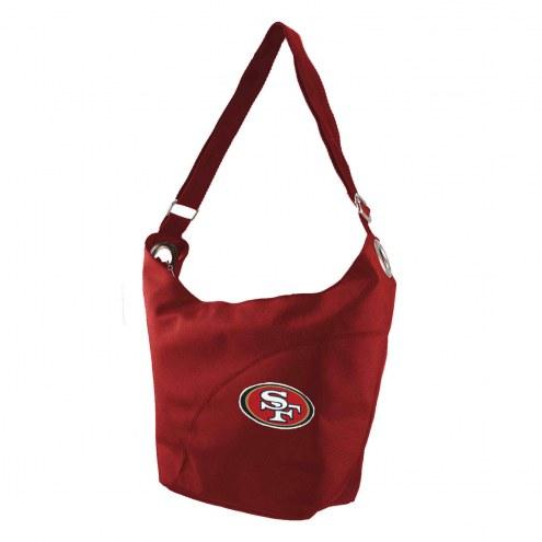 San Francisco 49ers Color Sheen Hobo Purse