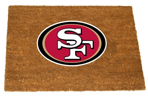 San Francisco 49ers Colored Logo Door Mat