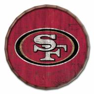 "San Francisco 49ers Cracked Color 24"" Barrel Top"