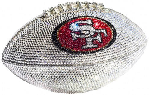 San Francisco 49ers Swarovski Crystal Football