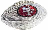 San Francisco 49ers Swarovski Crystal Football