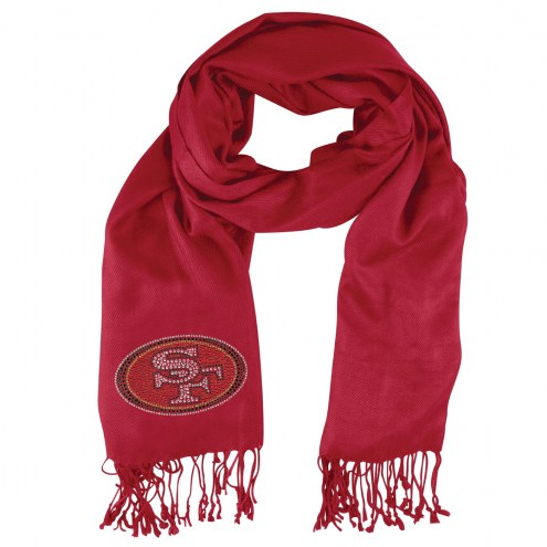 San Francisco 49ers Dark Red Pashi Fan Scarf