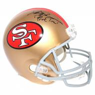 San Francisco 49ers Deion Sanders Signed Full Size Replica Helmet w/ Primetime