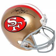 San Francisco 49ers Deion Sanders Signed Full Size Replica Helmet