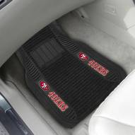 San Francisco 49ers Deluxe Car Floor Mat Set