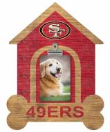 San Francisco 49ers Dog Bone House Clip Frame