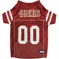 San Francisco 49ers Dog Football Jersey