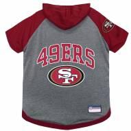 San Francisco 49ers Dog Hoodie Tee