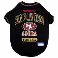 San Francisco 49ers Dog Tee Shirt