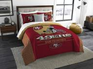San Francisco 49ers Draft King Comforter Set