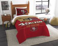San Francisco 49ers Draft Twin Comforter Set