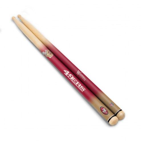 San Francisco 49ers Drum Sticks