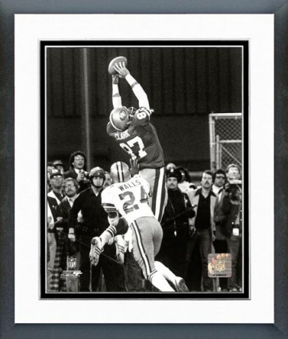 San Francisco 49ers Dwight Clark 1981 NFC Championship Catch Framed Photo