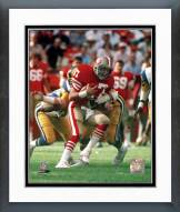 San Francisco 49ers Dwight Clark Action Framed Photo