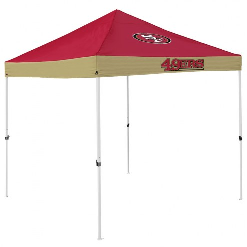 San Francisco 49ers Economy Tailgate Canopy Tent