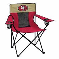 San Francisco 49ers Elite Tailgating Chair