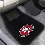 San Francisco 49ers Embroidered Car Mats