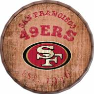 "San Francisco 49ers Established Date 24"" Barrel Top"