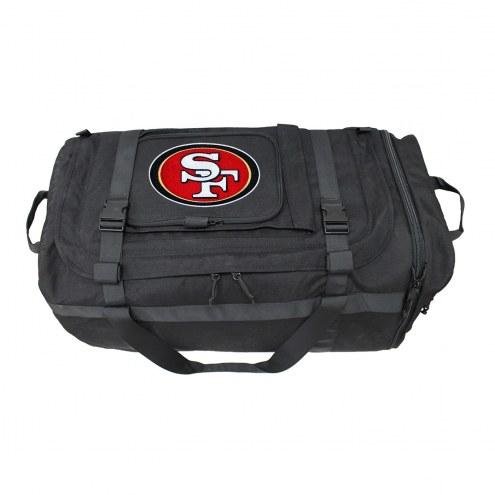 NFL San Francisco 49ers Expandable Military Duffel