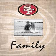 San Francisco 49ers Family Picture Frame