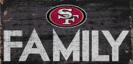 San Francisco 49ers Family Wood Sign