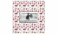 """San Francisco 49ers Floral Pattern 10"""" x 10"""" Picture Frame"""