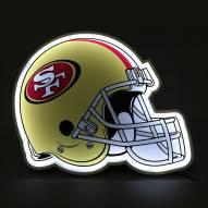 San Francisco 49ers Football Helmet LED Lamp