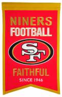 San Francisco 49ers Franchise Banner