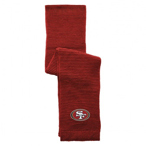 San Francisco 49ers Full Color Waffle Scarf
