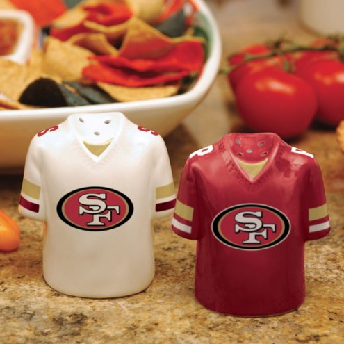 San Francisco 49ers Gameday Salt and Pepper Shakers
