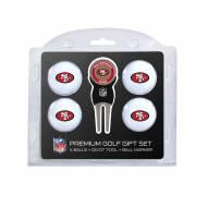 San Francisco 49ers Golf Ball Gift Set