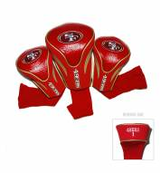San Francisco 49ers Golf Headcovers - 3 Pack