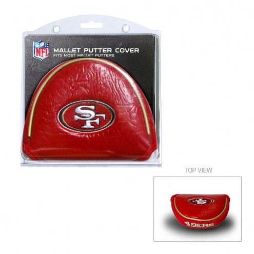 San Francisco 49ers Golf Mallet Putter Cover