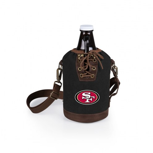 San Francisco 49ers Growler Tote with Growler