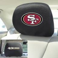 San Francisco 49ers Headrest Covers