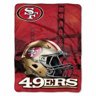 San Francisco 49ers Heritage Silk Touch Blanket