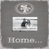 San Francisco 49ers Home Picture Frame
