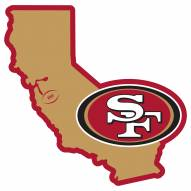 """San Francisco 49ers Home State 11"""""""" Magnet"""