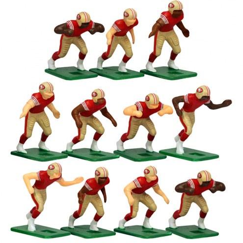 San Francisco 49ers Home Uniform Action Figure Set