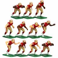 San Francisco 49ers Home Uniform Action Figure Set
