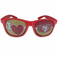 San Francisco 49ers I Heart Game Day Shades